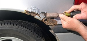 ROAD SALT AND SAND HELPS SAFE DRIVING AND RUSTS YOUR CAR