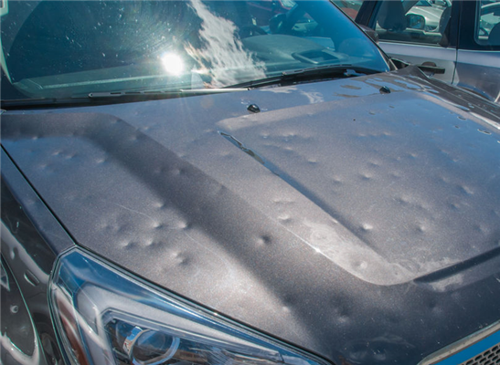 Protecting Your Car's Glass from Storms and Hail