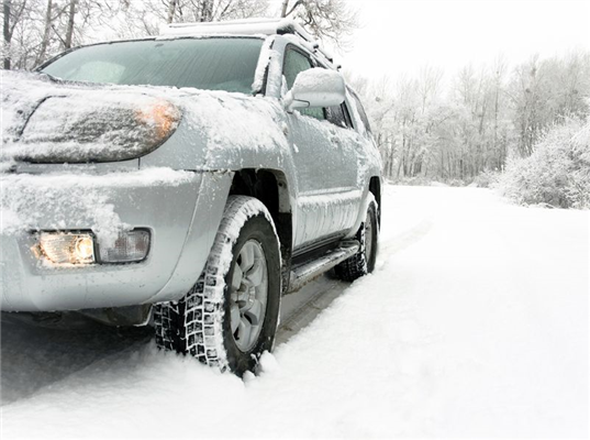 How Snow Build Up Can Affect Your Car